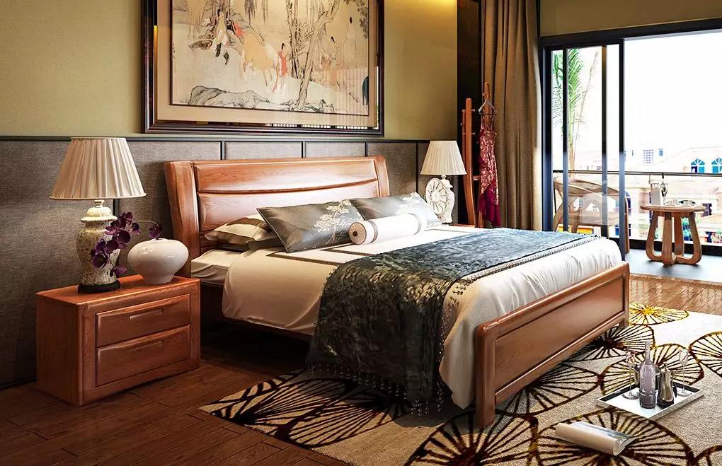 实木床价格:1米8的实木床多少钱一个