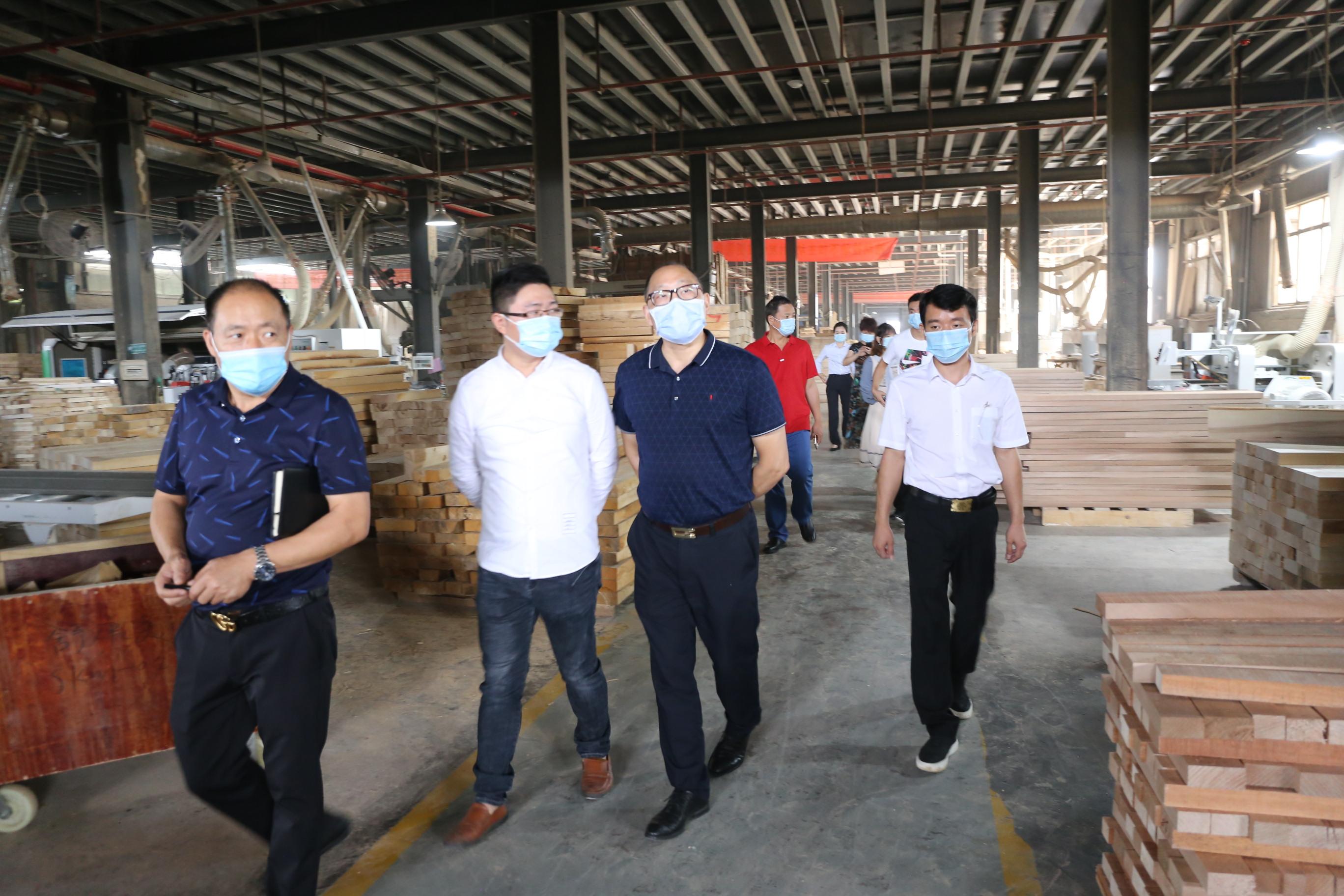 湖南省工业和信息化厅考察调研舒康美公司